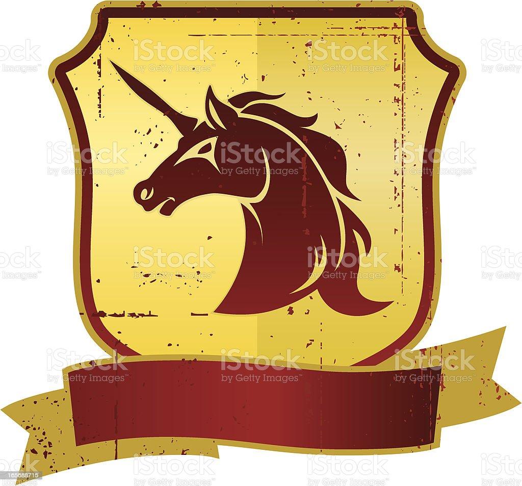 unicorn sign royalty-free stock vector art