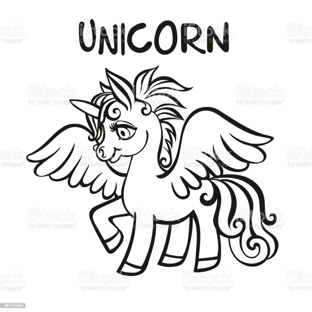 Unicorn Vector Artwork Coloring Book Pages For Adults And Kids Stock  Illustration - Download Image Now - IStock