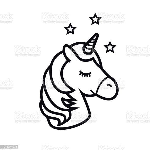 Unicorn vector icon isolated on white background head of the horse vector id1019274236?b=1&k=6&m=1019274236&s=612x612&h=7ev7cimrjgujcdpw4qzkoqn2xkte7lzakm8746xxmfy=