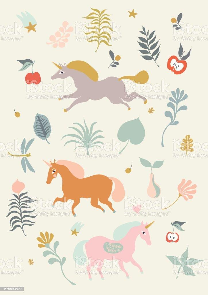 Unicorns unicorns – cliparts vectoriels et plus d'images de automne libre de droits