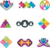 Unification of social community network and communication icons