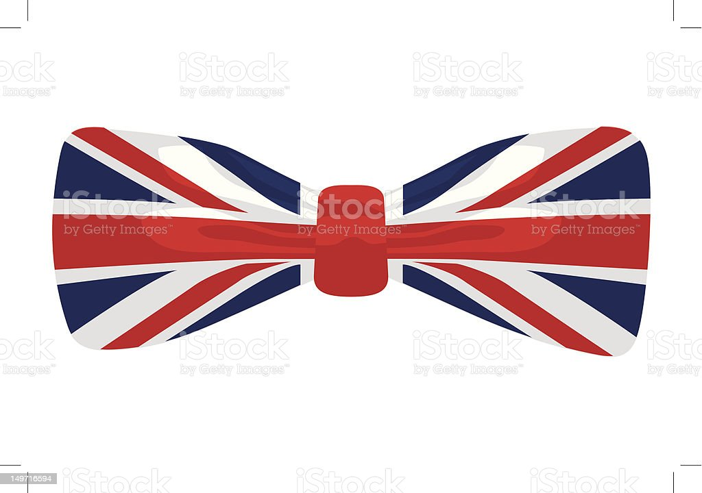 union jack bow tie stock vector art more images of bow tie rh istockphoto com union jack vector eps union jack vector file