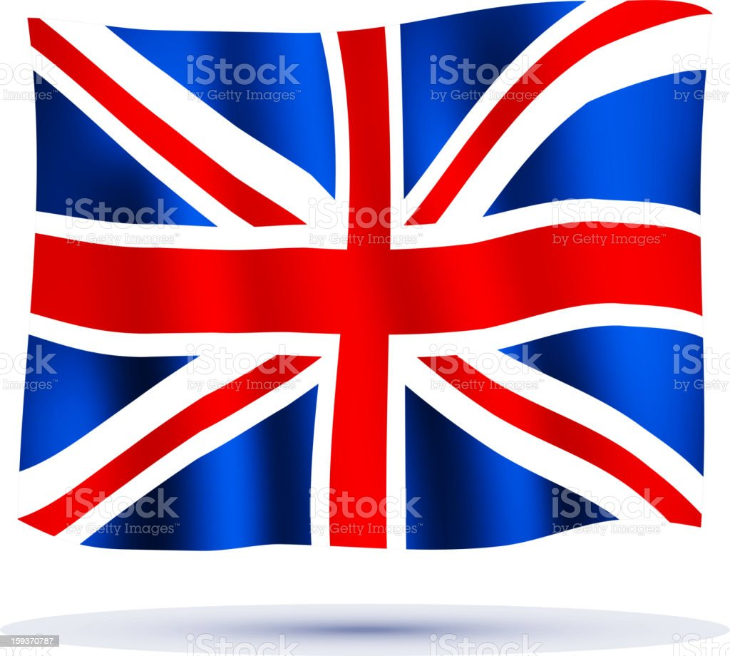Union Jack royalty-free stock vector art