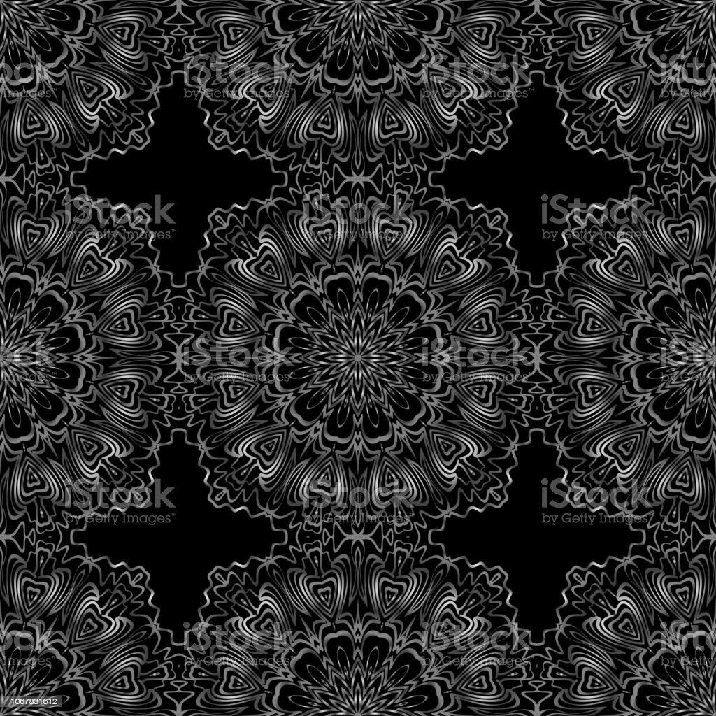 ユニークな抽象的な花カラー パターンシームレスなベクトル イラスト素晴らしいデザイン壁紙背景幻想的な印刷用 イラストレーションのベクターアート素材や画像を多数ご用意 Istock