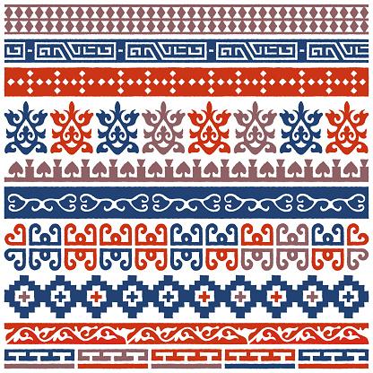 Unique Boho Decoration Vector Pattern