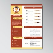 Resume Template Can Be Use As Letterhead Or Cover Letter