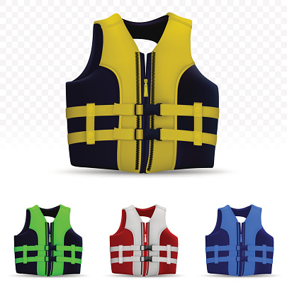 Unisex Life Vest Isolated On Transparent Background Stock Illustration Download Image Now Istock