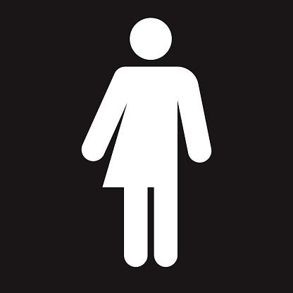 Unisex Washroom Accessibility Icon