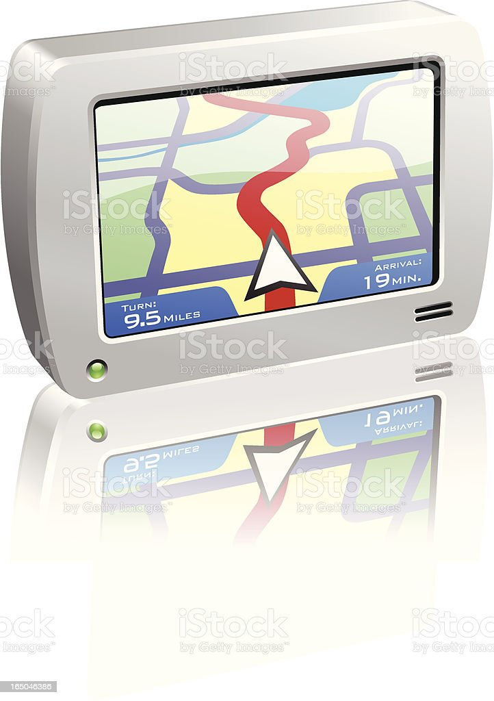GPS Unit royalty-free gps unit stock vector art & more images of adventure