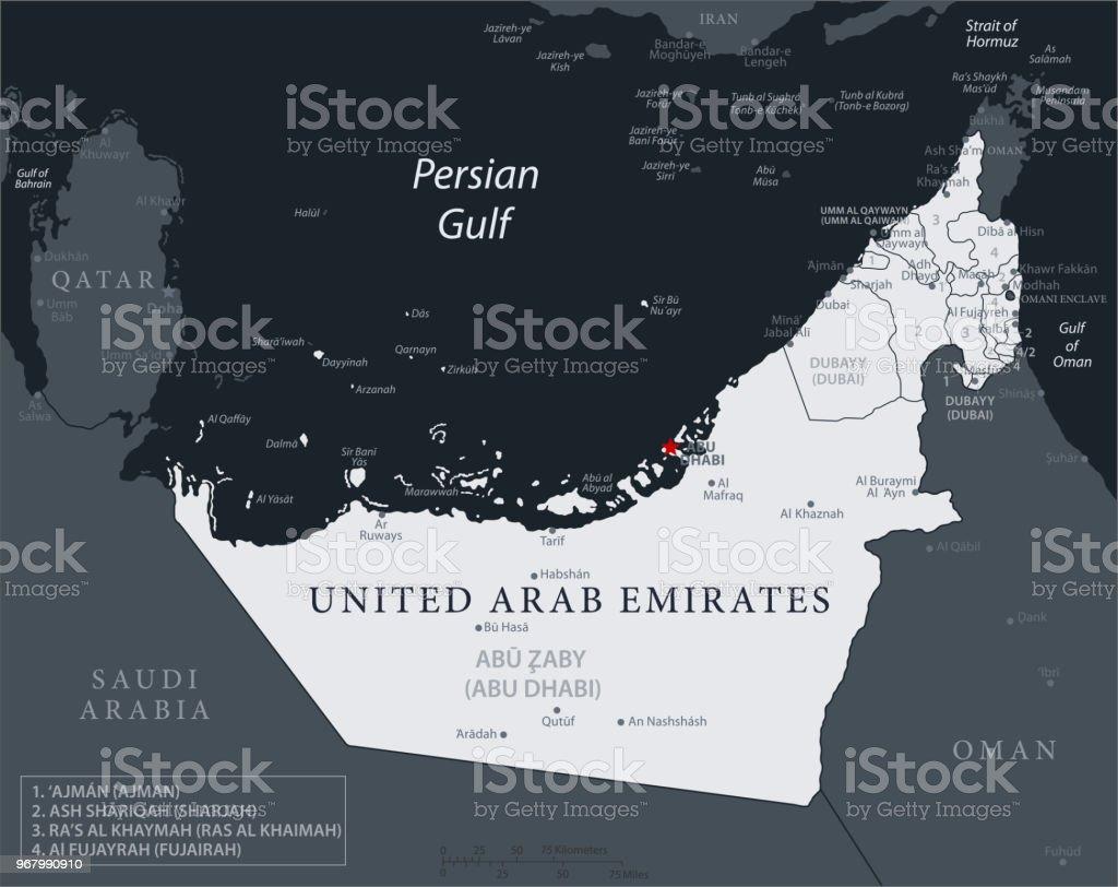 19 - United Arab Emirates - Black Gray 10
