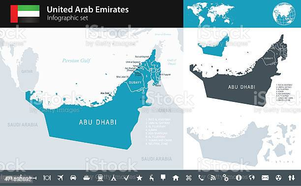 United arab emirates infographic map illustration vector id471892692?b=1&k=6&m=471892692&s=612x612&h=vmiv7iteyou 6jgu9txw8ueh9qabqgke5be1kug8iwe=
