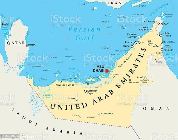 Emirati Arabi Dubai Cartina Geografica.Emirati Arabi Uniti Mappa Politica Degli Emirati Arabi Uniti Immagini Vettoriali Stock E Altre Immagini Di Abu Dhabi Istock