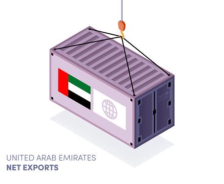 United Arab Emirates Trade Agreements Infographic Design