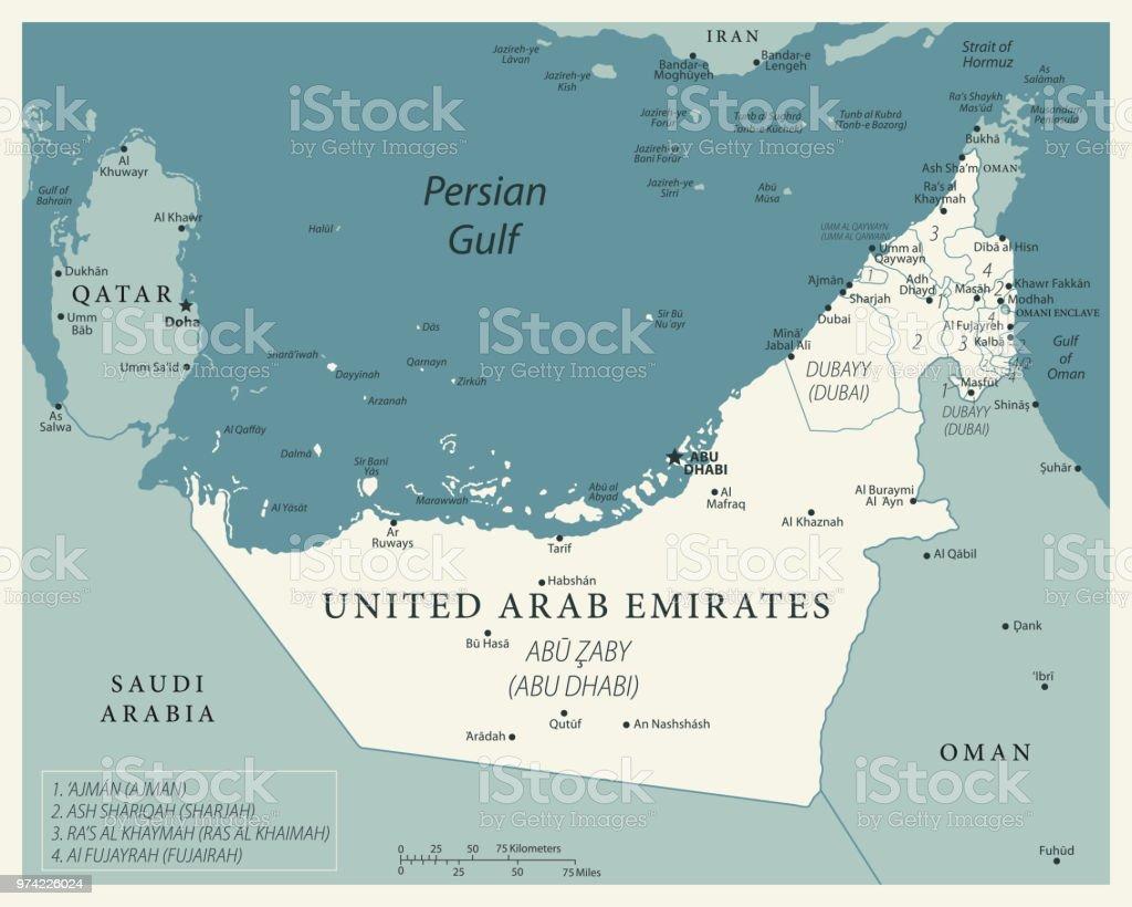 24 - United Arab Emirates - Vintage Murena Isolated 10