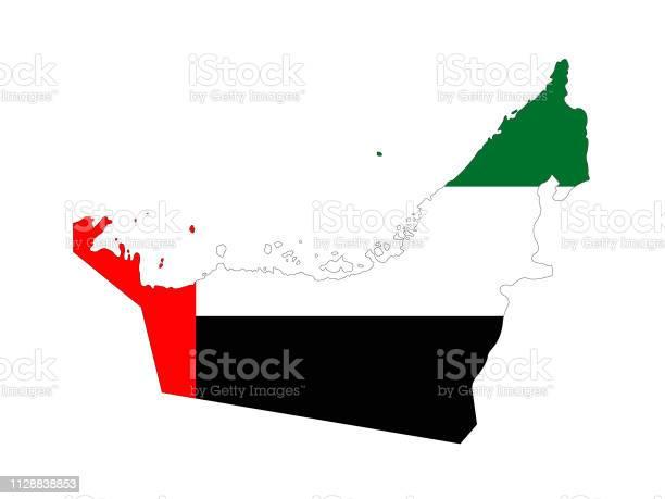 유나이티드 아랍 Emitares 플래그 및 지도 0명에 대한 스톡 벡터 아트 및 기타 이미지