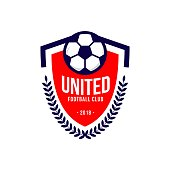 istock United Football Club icon Vector Template Design 988116318
