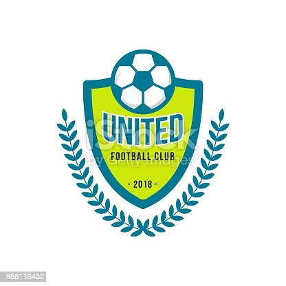 istock United Football Club icon Vector Template 988116432