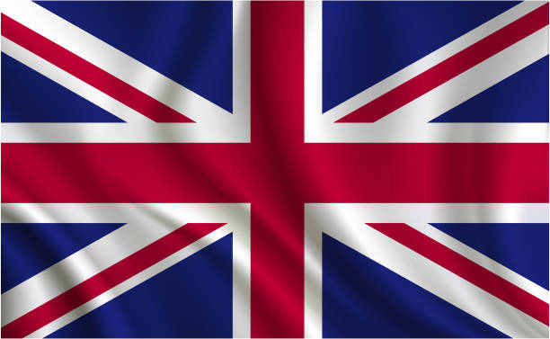 united kingdom flag background - union jack flag stock illustrations, clip art, cartoons, & icons