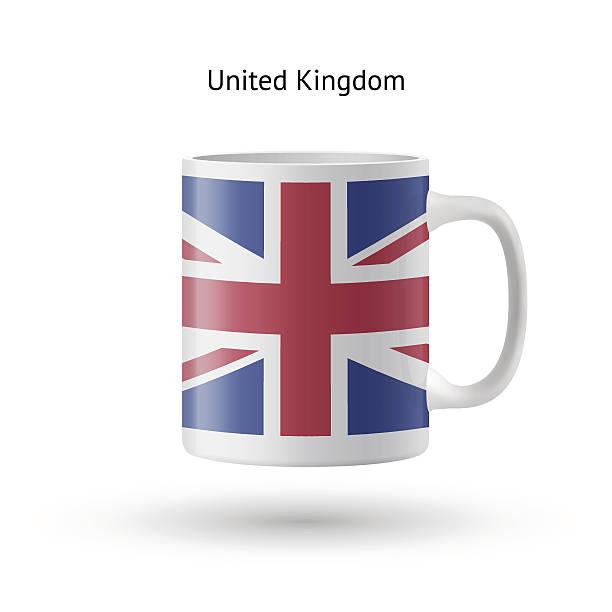 英国国旗記念マグをホワイトの背景にしています。 - イギリスの国旗点のイラスト素材/クリップアート素材/マンガ素材/アイコン素材