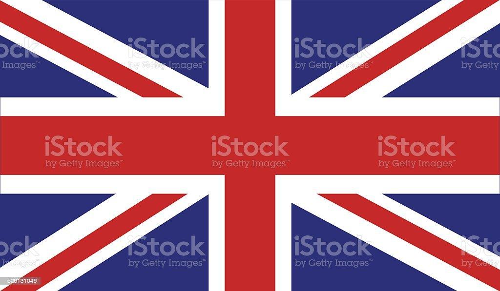英国国旗 ベクターアートイラスト