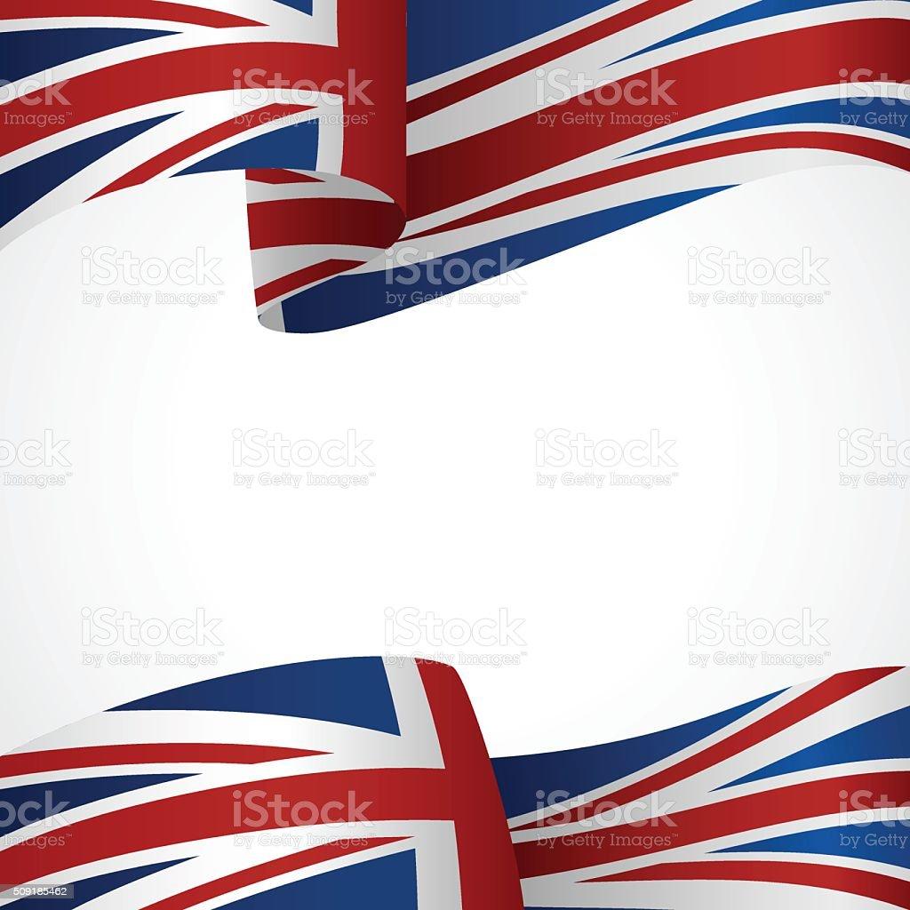 Insigne Royaume-Uni - Illustration vectorielle