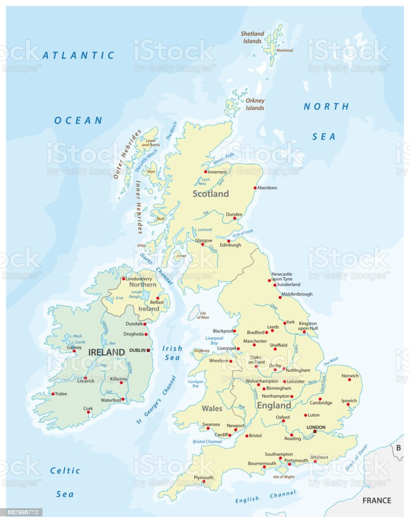 Picture of: United Kingdom Map Stock Illustration Download Image Now Istock