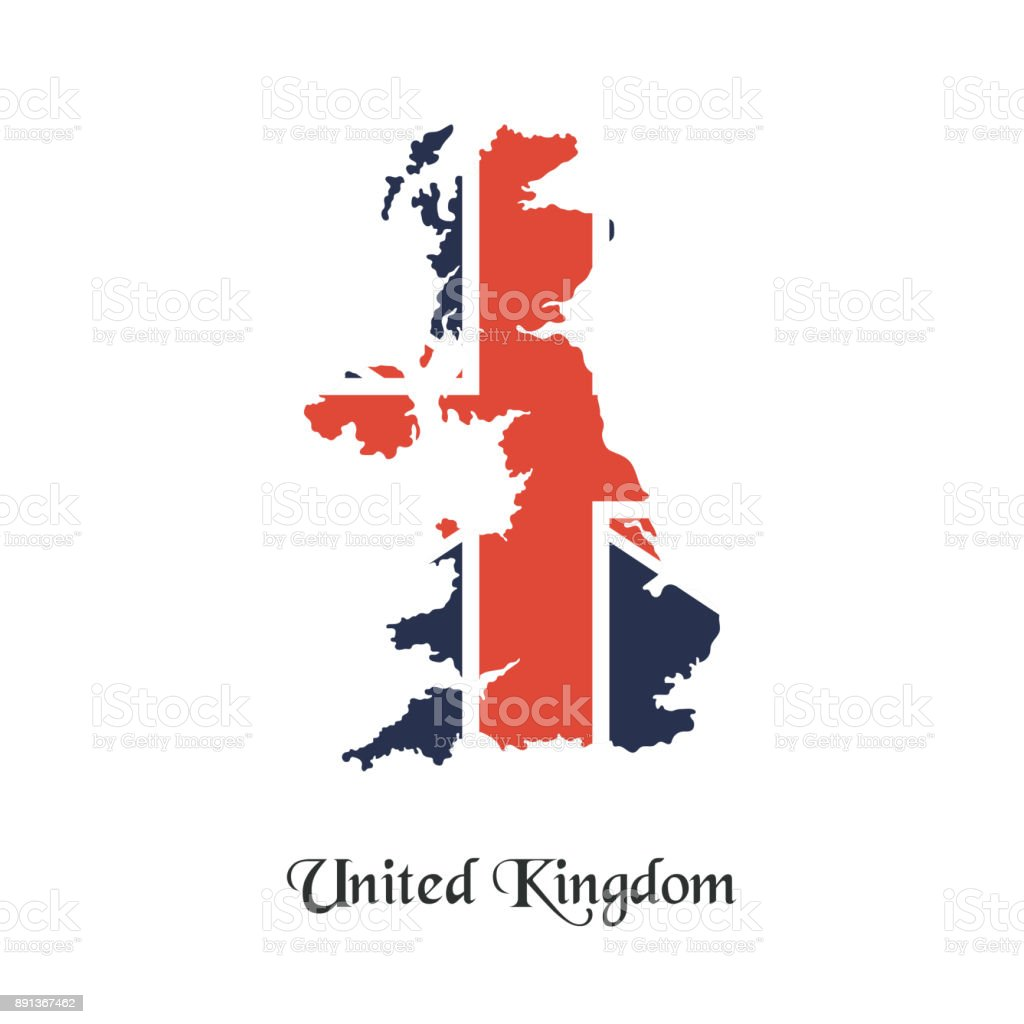 United Kingdom Map Stock Vector Art IStock - United kingdom map vector