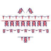 United Kingdom set flag