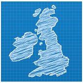 United Kingdom sketched