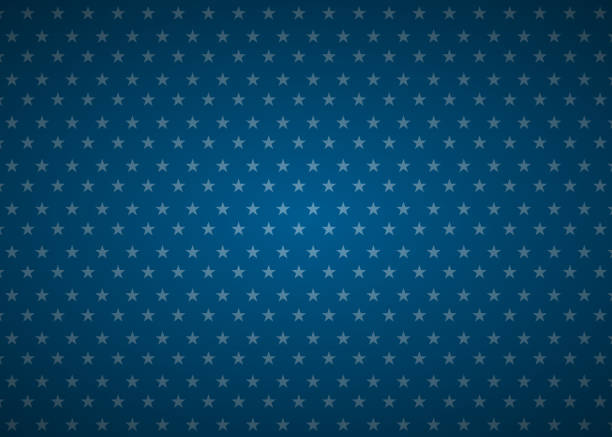 United States abstract flag background United States abstract flag background seamless pattern stars stock illustrations