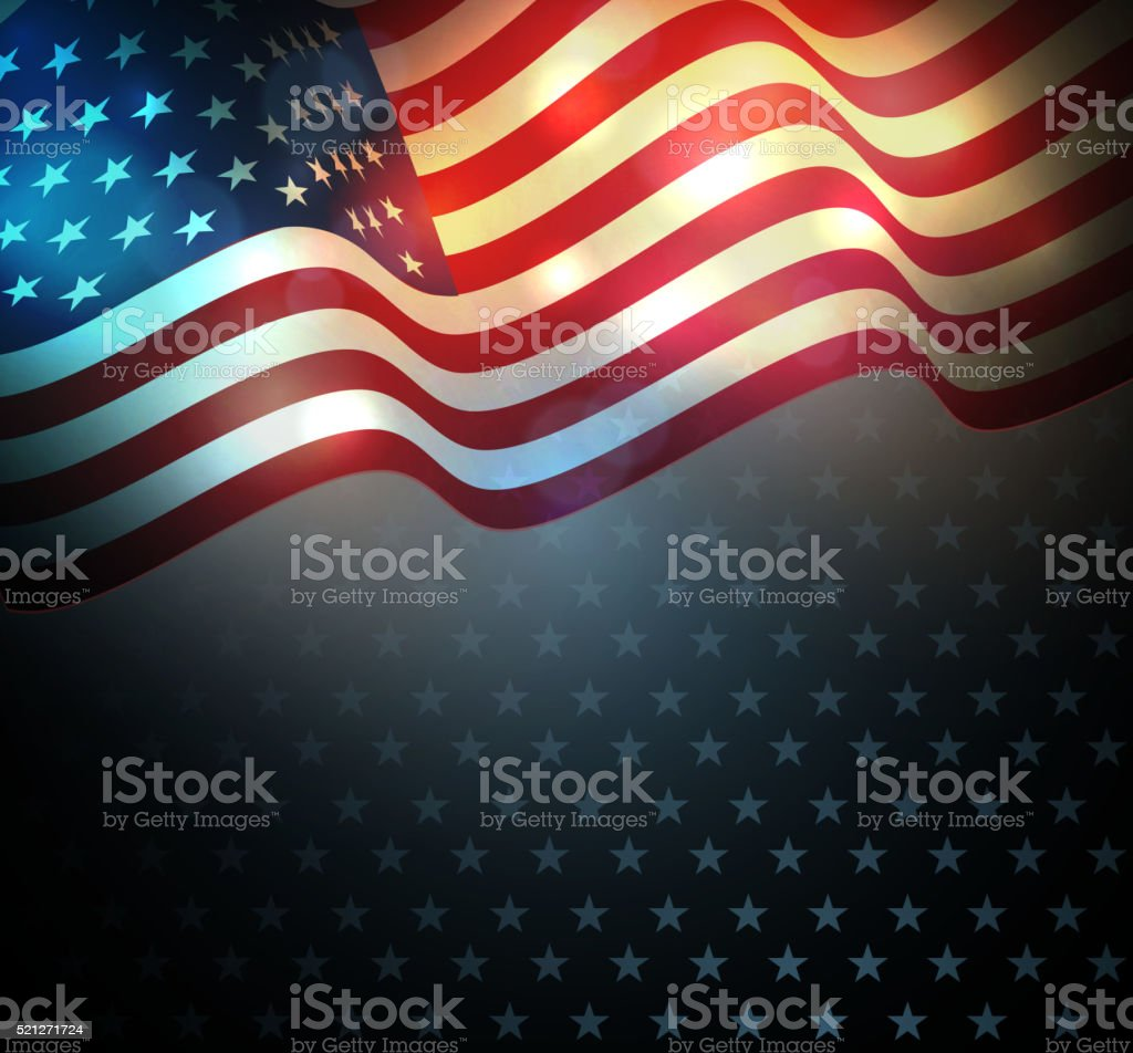 united states flag stock vector art more images of american flag