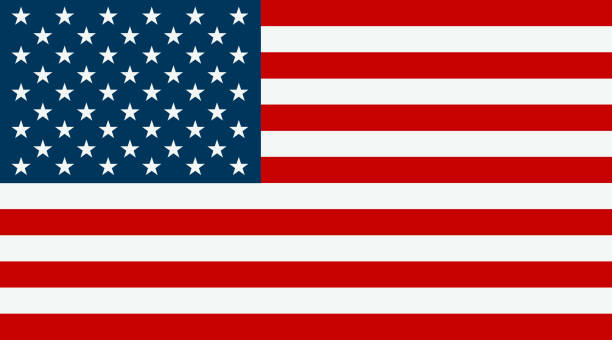 united states flag - american flag stock illustrations