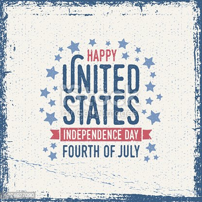 istock United States Independence Day Greeting Card 1224627090