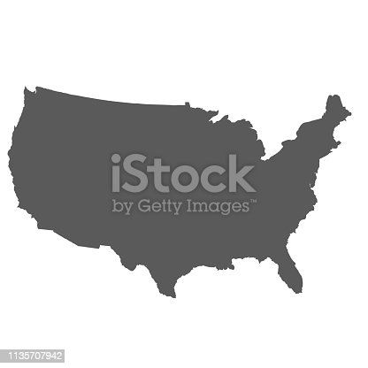 United States map background. Vector eps10 illustration