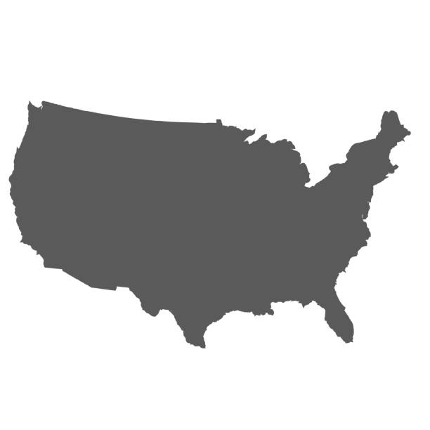 United States map background United States map background. Vector eps10 illustration vector stock illustrations