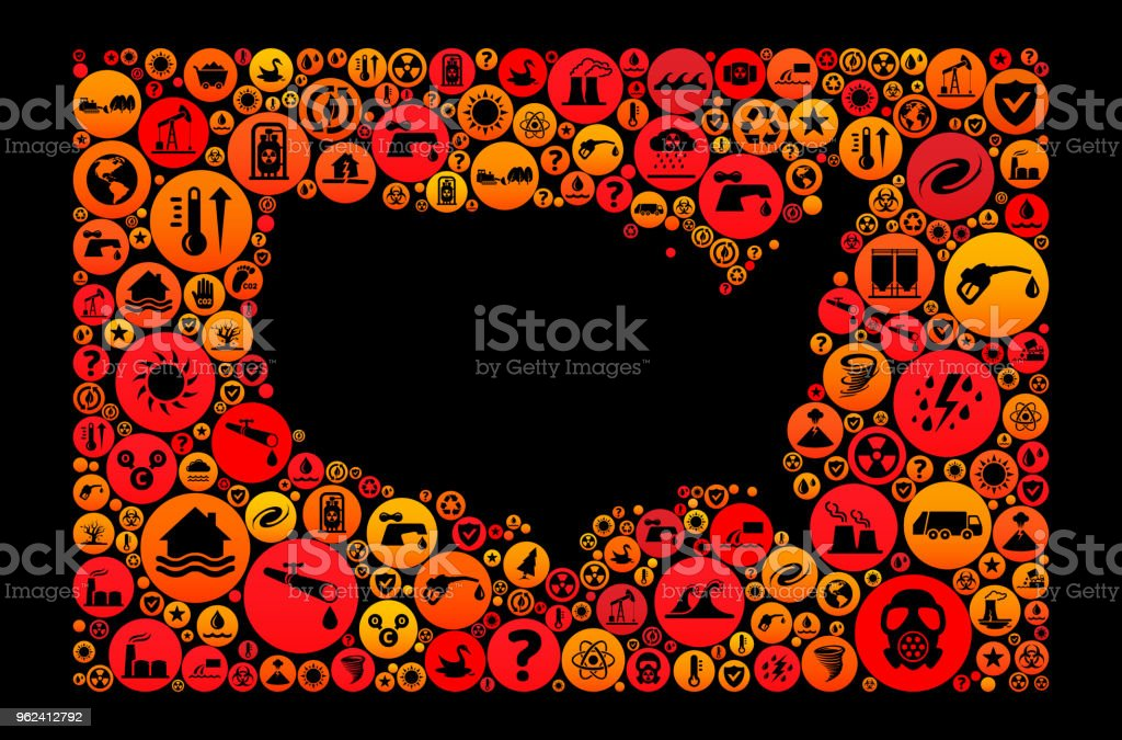 United States Map Global Warming Background Stock Vector Art & More ...