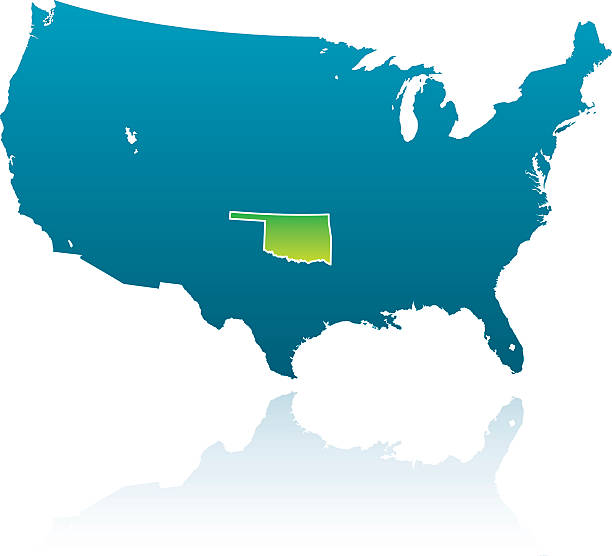 Oklahoma Location On The US Map Where Is Oklahoma Location Of - Us map oklahoma