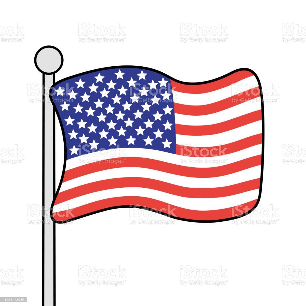 States United flag clip art best photo
