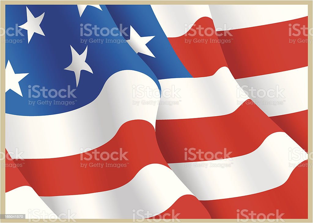 USA United States of America Flag royalty-free usa united states of america flag stock vector art & more images of american culture