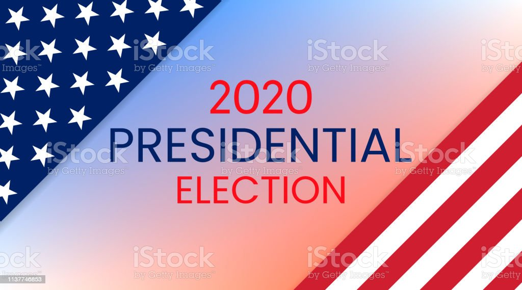 United States of America Presidential Election 2020. Vector royalty-free united states of america presidential election 2020 vector stock illustration - download image now