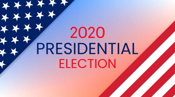 amerika birleşik devletleri cumhurbaşkanlığı seçimi 2020. vektör - election stock illustrations