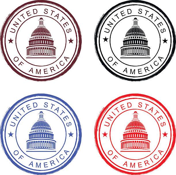 Vereinigte Staaten von Amerika – Vektorgrafik