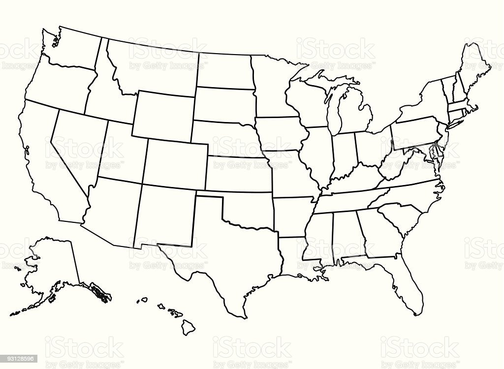 map usa save united states of america royalty free united states of america stock vector art