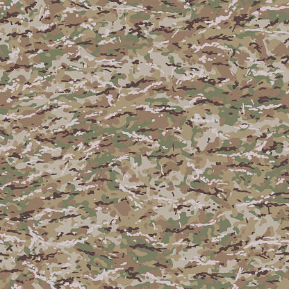 United States MultiCam Style Camouflage Pattern