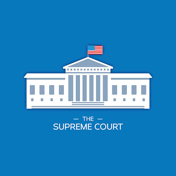 United States Supreme Court The United States Supreme Court concept. EPS 10 file. Transparency effects used on highlight elements. white house stock illustrations