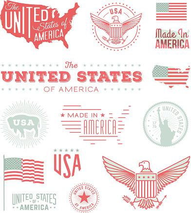 United States Typography