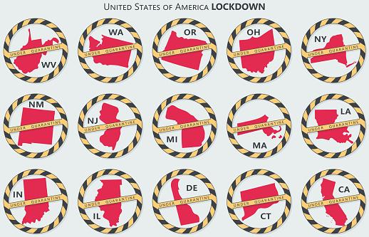United States under quarantine