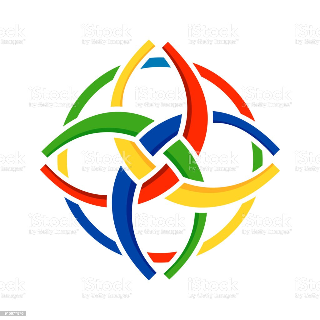 Unity In Diversity Circular Symbol Design Stock Illustration Download Image Now Istock