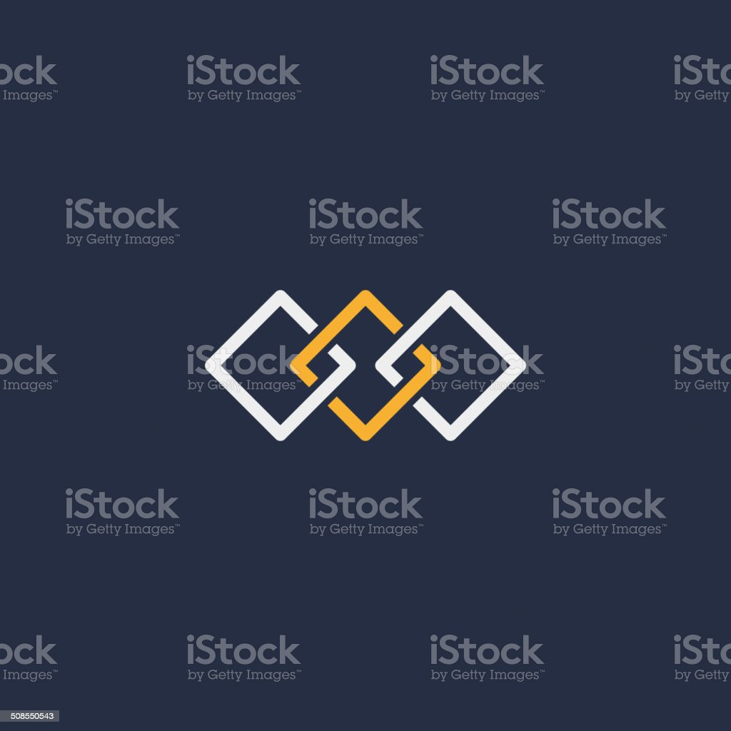 unity symbol vector art illustration