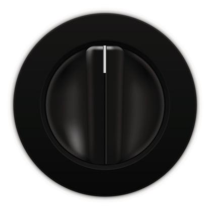 Universal blank selector. Car dashboard black switch